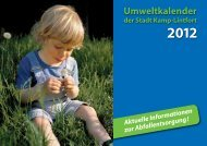 Umweltkalender 2012 - Kamp-Lintfort