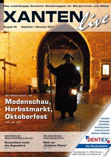 Modenschau, Herbstmarkt, Oktoberfest - Live Magazine