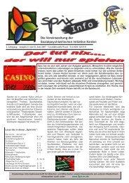 Die Vereinszeitung der Sozialpsychiatrischen Initiative Xanten