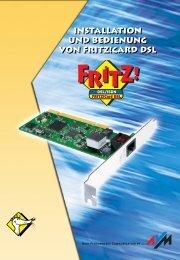 AVM ADSL/ISDN-Controller FRITZ!Card DSL v2.0