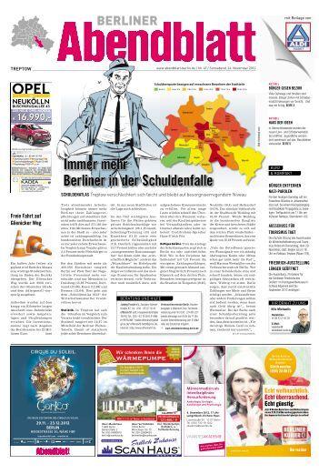 24. November 2012 - Berliner Abendblatt