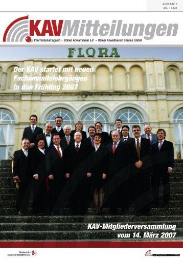 Ich bilde aus - Kölner Anwaltverein e.V. - Deutscher Anwaltverein
