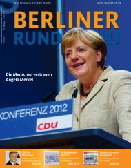 Berliner Rundschau 06/2012 - CDU Landesverband Berlin