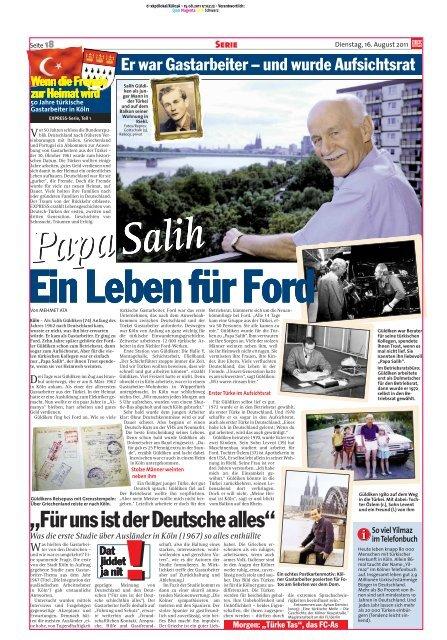 Was die erste Studie über Ausländer in Köln (1967 ... - Drehscheibe