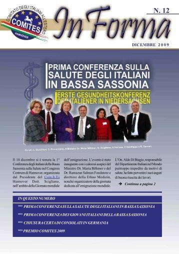 italia - Comites Hannover