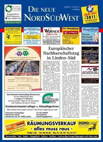 Ausgabe 04 vom 06.05.2011 - Die neue NordSüdWest
