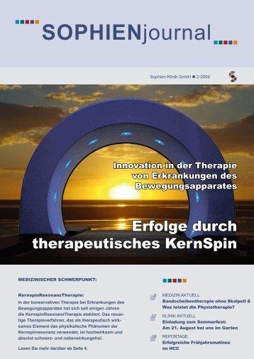 Gelenkprobleme? Osteoporose? - Sophien-Kliniken Hannover