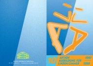 ALI Broschüre 2007 - Linden entdecken...