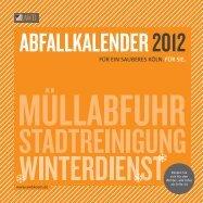 Alles über Abfall Internet: www.awbkoeln.de