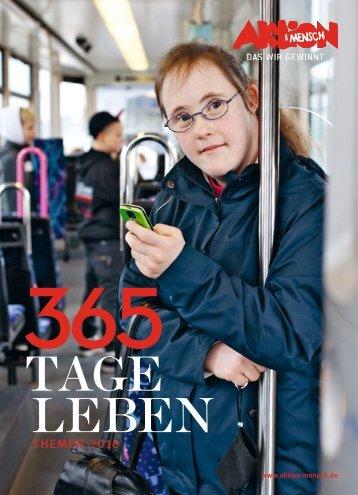 365 Tage Leben – Themen 2010 - Aktion Mensch