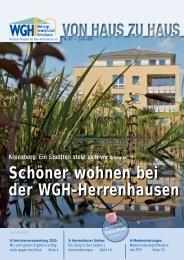 Schöner wohnen bei der WGH-Herrenhausen