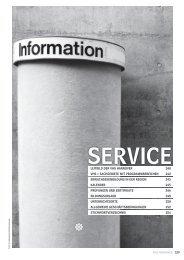 10 SERVICE mit Stichwortverzeichnis - Volkshochschule Hannover