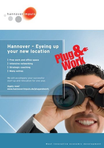 Hannover – Eyeing up your new location - hannoverimpuls