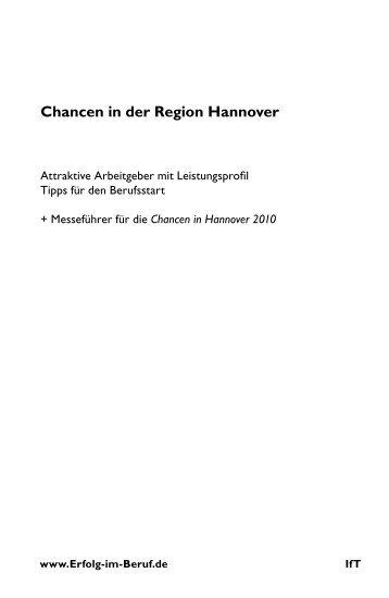 Chancen in der Region Hannover - T-Online