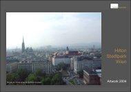 Hotel Hilton Stadtpark Wien - Kunstkontakt