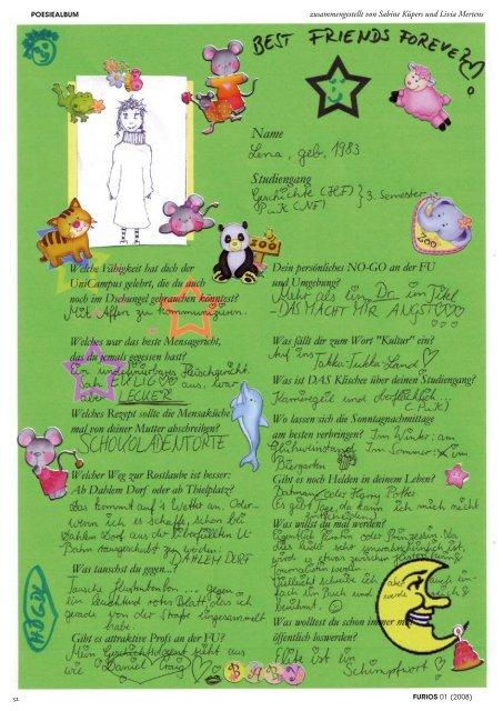 Dezember 2008 - FURIOS Online