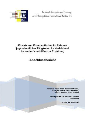 Institut für Innovation und Beratung an der Evangelischen ...