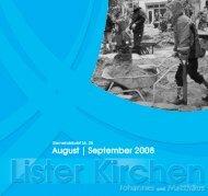 BLUMEN Liebigstr. 2 - Luth. Lister Johannes- und Matthäus ...