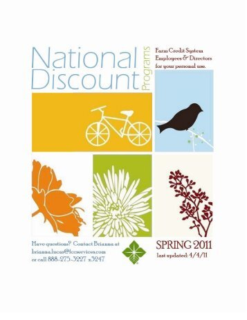 National Discount Programs - Farm Credit of Central Florida