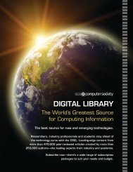 DIGITAL LIBRARY - IEEE Computer Society
