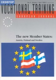 """""""models"""" of the Nordic countries (Sweden, Norway ... - Cedefop"""
