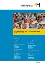 6 Jahre Kooperation des PFH mit Ganztagsschulen Ein ...