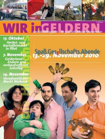 Oktober|November - WIR in Geldern