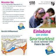 Sonntag, 20. September 2009 - TuS Hamborn-Neumühl 07 eV