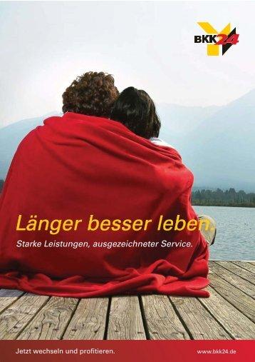 Länger besser leben. - BKK 24