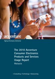 The 2010 Accenture Consumer Electronics Products and Services ...
