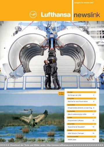 frei für neue Fracht-Airline - Media Relations - Lufthansa