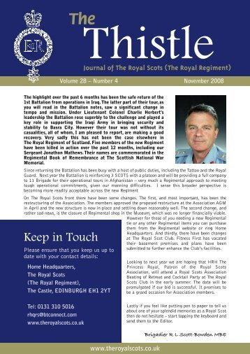 227003 THISTLE NEWS 3 - The Royal Scots