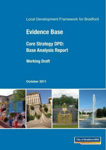 Core Strategy Baseline Analysis Study - Bradford Metropolitan ...