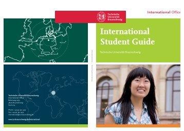 International Student Guide - International Office - Technische ...