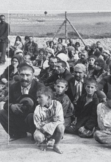 the quest for racial purity - United States Holocaust Memorial Museum