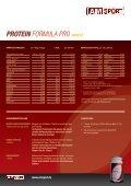 Protein FORMULA PRO Vanille - Fitness First Shop - Seite 2