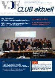 VDF Partnernews - Hier entsteht eine neue Internetpräsenz