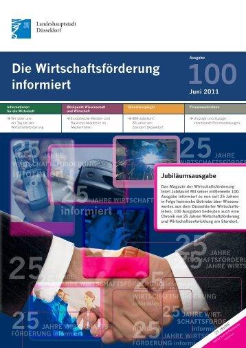 Die Wirtschaftsförderung informiert - Duesseldorf Realestate