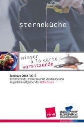 sterneküche - DGB-Bildungswerk NRW e.V.