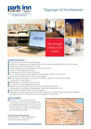 Meeting planner - Radisson Blu
