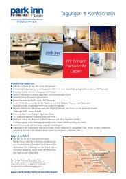 Meeting planner - Radisson Blu