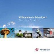 Willkommen in Düsseldorf! Welcome to Düsseldorf! - Rheinbahn