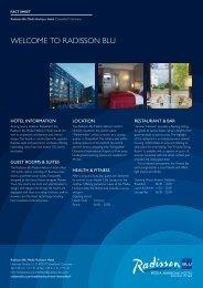 Meeting Fact Sheet - Radisson Blu