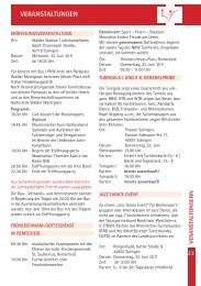 Das Bergische Land erleben - 2. NRW Turnfest 2011
