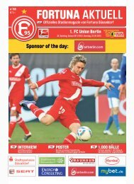 Download - Fortuna Düsseldorf
