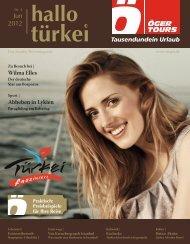 ÖGER TOURS - Insider Reisemagazin - Nr. 4 / Juni 2012