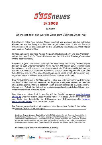 Die business angels frank motte gerlingen bei stuttgart for Business netzwerk