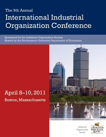 2011 international industrial organization conference