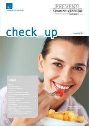 che ck_up - ias-Gruppe