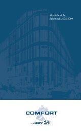 Marktbericht Jahrbuch 2008/2009 - comfort.de